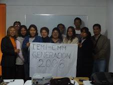 ESTUDIANTES Y MAESTROS DEL SEMINARIO INTERNACIONA IEMI- CMM