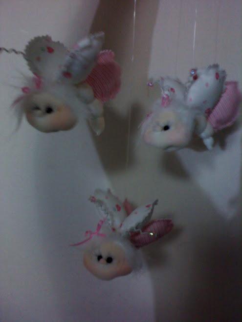 móviles de mariposas