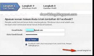 Cara daftar di Facebook