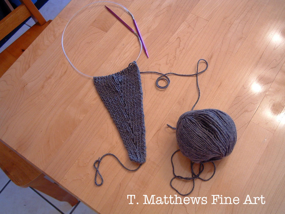 T. Matthews Fine Art: Free Knitting Pattern - Headband Ear Warmer