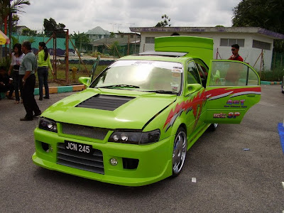 Modofied Toyota Corolla Seg