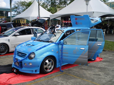 Modified Perodua Kancil custom body kit