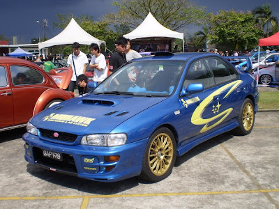 Modified Subaru Impreza