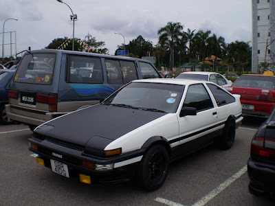 The Legendary drift car: AE86