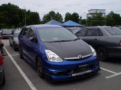 Modified Toyota Wish