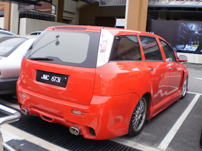 Modified Chery Eastar