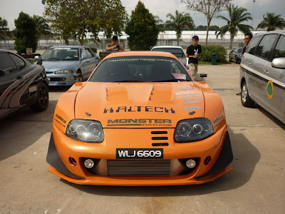 Supra Super GT style wide body kit