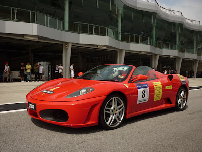Time To Attack Sepang Ferrari F430 Spider
