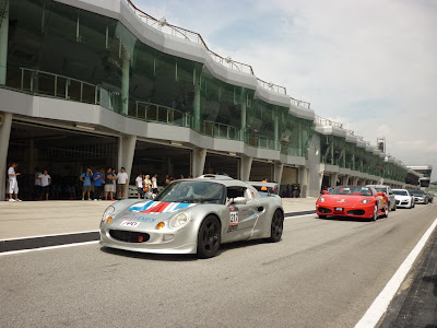 Time To Attack Sepang Tuned Lotus Elise and the Ferrari F430 Spider