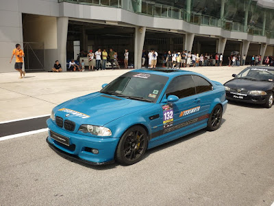 Time To Attack Sepang BMW M3 CSL E46