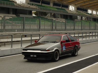 Time To Attack Sepang Toyota Corolla AE86 Trueno