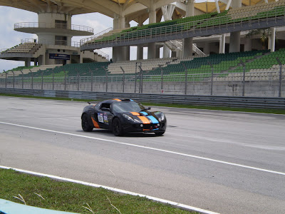Time To Attack Sepang Lotus Exige