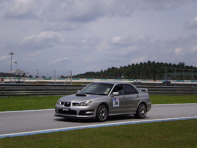 Time To Attack Sepang Subaru Impreza STI s204