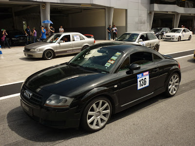 Time To Attack Sepang Audi TT