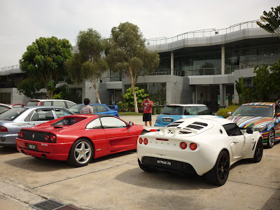 Time To Attack Sepang Ferrari F355 GTS and the Lotus Exige S