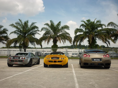 Time To Attack Sepang nissan gtr and lotus