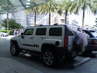 Hummer H3 Bridal Car