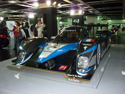 Peugeot Le Mans Race Car
