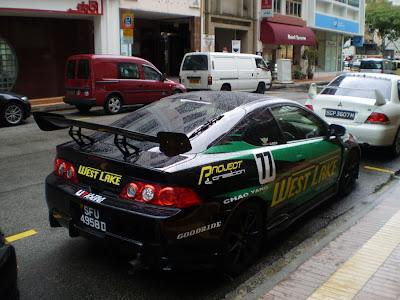 Honda Integra Racing Style