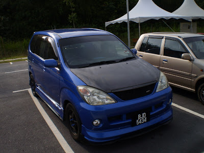Toyota Avanza body kit