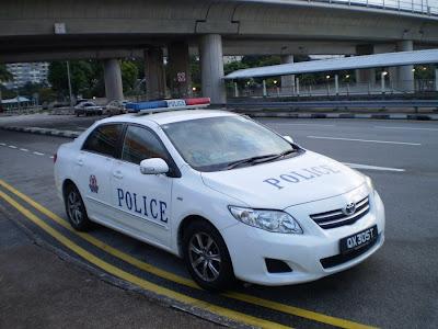 Toyota Corolla Altis Police Car
