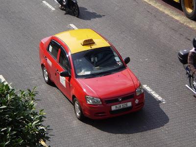 Proton Saga BLM Taxi