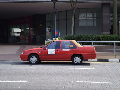 Proton Iswara Sedan Taxi