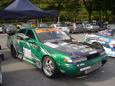 Nissan Cefiro A31 drift car from Team Duke.