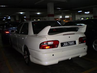 Wira Sedan spoiler