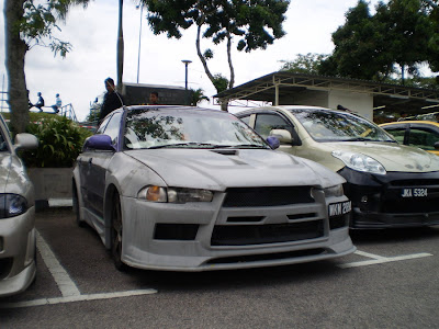 Wira Evo X body kit
