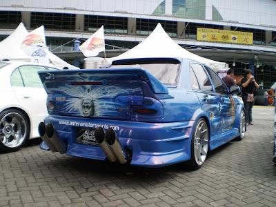 Extreme Wira autoshow car