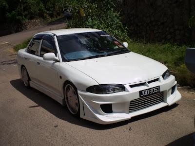 Proton Wira custom front bumper