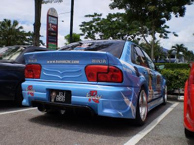 Wira Aeroback custom bodykit
