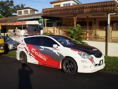 modified Toyota Caldina