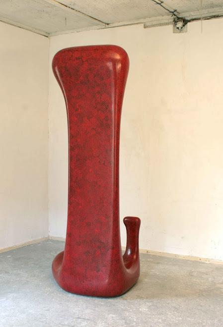 ff02, kompozitni materialy, paintmarker, lak, 220cm, 2009