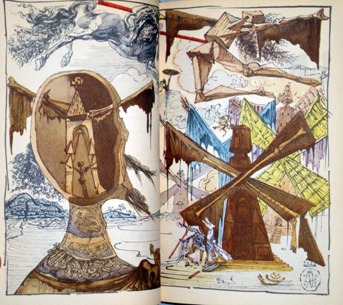 books illustrated by salvador dali