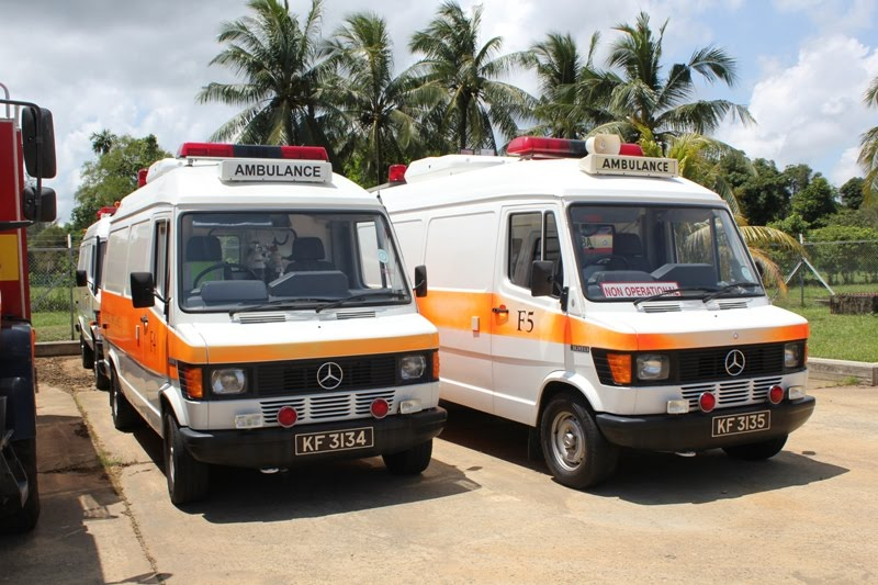 brunei fire rescue department appliances mercedes benz