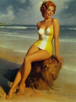 Bill Medcalf vintage pin up