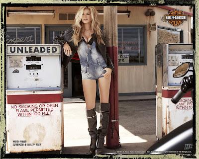 Marisa Miller Harley Davidson