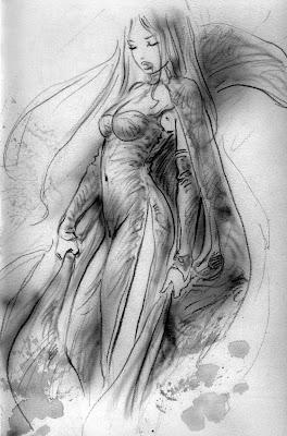 Luis Royo sketch