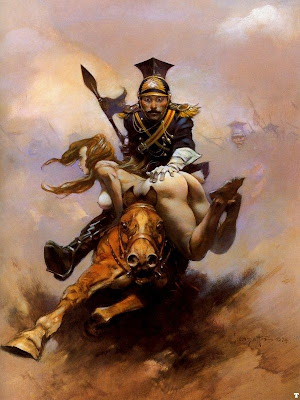Frank Frazetta fantasy illustration