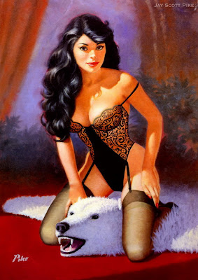 Jay Scott Pike pin up art