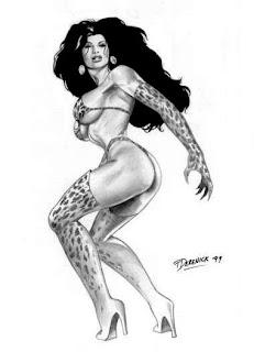sketches girl