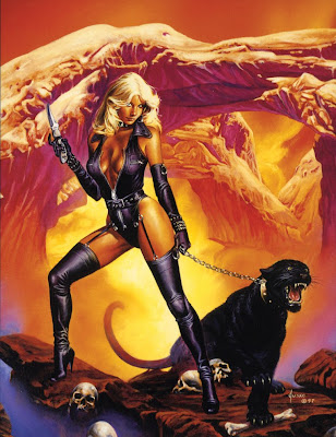 Joe Jusko pin up
