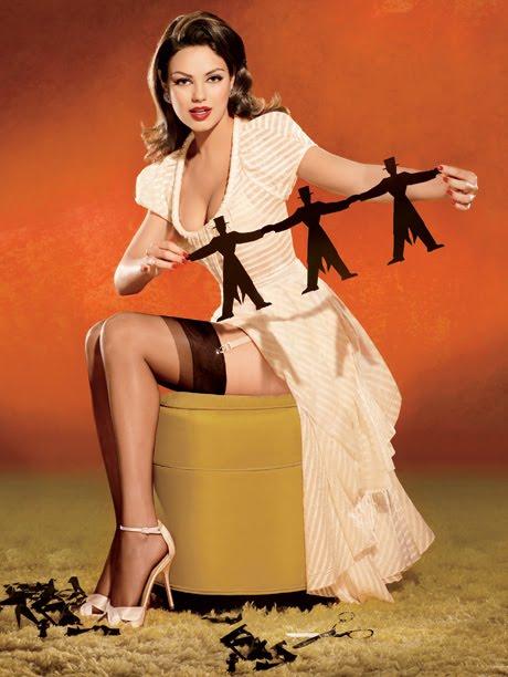 Mila Kunis vanity fair pin up