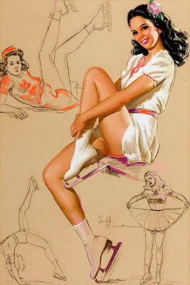 Knute Munson Pin Up Girl