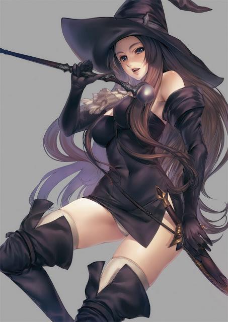 anime girl witc