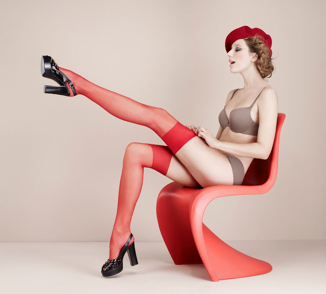 Pin Up Style Photos - Lingerie Ads