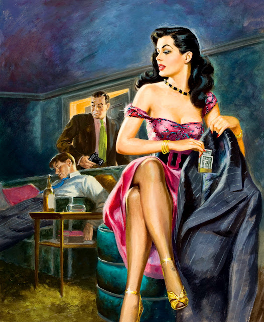 Pulp Cover Illustration