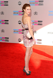 Whitney Port Lovely With One Shoulder Chiffon Dress